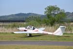 フォークリフト操縦士さんが、角田滑空場で撮影した日本モーターグライダークラブ G109Bの航空フォト(写真)