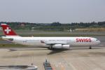 meijeanさんが、成田国際空港で撮影したスイスインターナショナルエアラインズ A340-313Xの航空フォト(写真)