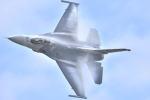 オキシドールさんが、岩国空港で撮影したアメリカ空軍 F-16CM-50-CF Fighting Falconの航空フォト(写真)