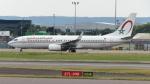 誘喜さんが、ロンドン・ヒースロー空港で撮影したロイヤル・エア・モロッコ 737-8B6の航空フォト(写真)