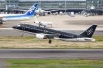 ぽん太さんが、羽田空港で撮影したスターフライヤー A320-214の航空フォト(写真)