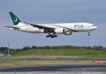 mojioさんが、成田国際空港で撮影したパキスタン国際航空 777-2Q8/ERの航空フォト(写真)