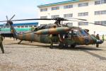 りんたろうさんが、高田駐屯地で撮影した陸上自衛隊 UH-60JAの航空フォト(写真)