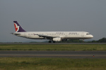 endress voyageさんが、岡山空港で撮影したマカオ航空 A321-131の航空フォト(写真)