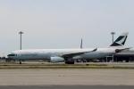 ハピネスさんが、関西国際空港で撮影したキャセイパシフィック航空 A330-343Xの航空フォト(写真)