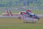 チャーリーマイクさんが、熊本空港で撮影した朝日新聞社 MD 900/902の航空フォト(写真)