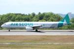 Wings Flapさんが、広島空港で撮影したエアソウル A321-231の航空フォト(写真)