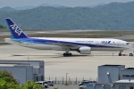 Wings Flapさんが、広島空港で撮影した全日空 777-281の航空フォト(写真)