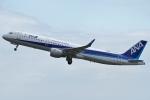 Wings Flapさんが、広島空港で撮影した全日空 A321-211の航空フォト(写真)