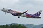Wings Flapさんが、広島空港で撮影した香港エクスプレス A320-232の航空フォト(写真)