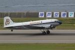 かぷちーのさんが、神戸空港で撮影したスーパーコンステレーション飛行協会 DC-3Aの航空フォト(写真)