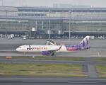 とりてつさんが、羽田空港で撮影した香港エクスプレス A320-232の航空フォト(写真)