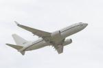 とらとらさんが、厚木飛行場で撮影したアメリカ海軍 C-40A Clipper (737-7AFC)の航空フォト(写真)