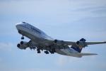 masakazuさんが、関西国際空港で撮影したルフトハンザドイツ航空 747-430の航空フォト(写真)