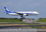 mojioさんが、成田国際空港で撮影した全日空 767-381/ERの航空フォト(写真)