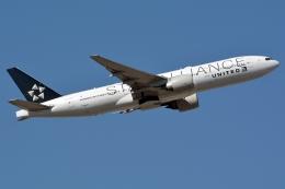 kansai-spotterさんが、フランクフルト国際空港で撮影したユナイテッド航空 777-224/ERの航空フォト(写真)