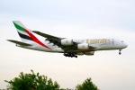 on-chanさんが、成田国際空港で撮影したエミレーツ航空 A380-861の航空フォト(写真)