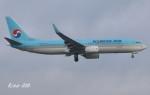 RINA-200さんが、小松空港で撮影した大韓航空 737-8LHの航空フォト(写真)