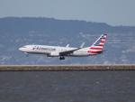 職業旅人さんが、サンフランシスコ国際空港で撮影したアメリカン航空 737-823の航空フォト(写真)