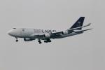 さんみさんが、香港国際空港で撮影したサウジアラビア航空 747-481(BDSF)の航空フォト(写真)