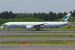 PASSENGERさんが、成田国際空港で撮影したキャセイパシフィック航空 777-367/ERの航空フォト(写真)