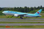PASSENGERさんが、成田国際空港で撮影した大韓航空 777-2B5/ERの航空フォト(写真)