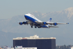 Willieさんが、ロサンゼルス国際空港で撮影したユナイテッド航空 747-422の航空フォト(写真)
