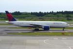 PASSENGERさんが、成田国際空港で撮影したデルタ航空 777-232/LRの航空フォト(写真)