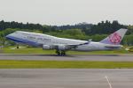 PASSENGERさんが、成田国際空港で撮影したチャイナエアライン 747-409の航空フォト(写真)