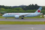 PASSENGERさんが、成田国際空港で撮影したエア・カナダ 787-8 Dreamlinerの航空フォト(写真)