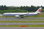 PASSENGERさんが、成田国際空港で撮影した中国国際航空 A330-343Xの航空フォト(写真)
