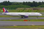 PASSENGERさんが、成田国際空港で撮影したマカオ航空 A321-231の航空フォト(写真)