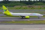 PASSENGERさんが、成田国際空港で撮影したジンエアー 737-86Nの航空フォト(写真)