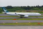 PASSENGERさんが、成田国際空港で撮影したキャセイパシフィック航空 A330-343Xの航空フォト(写真)