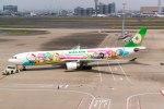 羽田空港 - Tokyo International Airport [HND/RJTT]で撮影されたエバー航空 - Eva Airways [BR/EVA]の航空機写真