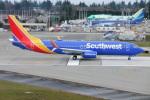 M.Chihara_1さんが、ペインフィールド空港で撮影したサウスウェスト航空 737-8H4の航空フォト(写真)