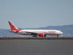 職業旅人さんが、サンフランシスコ国際空港で撮影したエア・インディア 777-237/LRの航空フォト(写真)