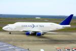 きったんさんが、中部国際空港で撮影したボーイング 747-4H6(LCF) Dreamlifterの航空フォト(写真)