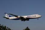 MOHICANさんが、成田国際空港で撮影した日本貨物航空 747-8KZF/SCDの航空フォト(写真)