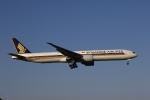 MOHICANさんが、成田国際空港で撮影したシンガポール航空 777-312/ERの航空フォト(写真)