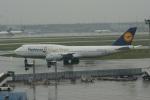 ガペ兄さんが、フランクフルト国際空港で撮影したルフトハンザドイツ航空 747-830の航空フォト(写真)