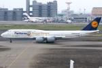 グリスさんが、羽田空港で撮影したルフトハンザドイツ航空 747-830の航空フォト(写真)