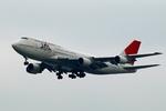 mat_satさんが、羽田空港で撮影した日本航空 747-446Dの航空フォト(写真)