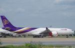 xiel0525さんが、ドンムアン空港で撮影したタイ国際航空 A340-541の航空フォト(写真)