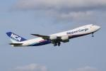 JA882Aさんが、成田国際空港で撮影した日本貨物航空 747-8KZF/SCDの航空フォト(写真)