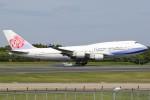 JA882Aさんが、成田国際空港で撮影したチャイナエアライン 747-409の航空フォト(写真)