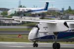 Foxfireさんが、伊丹空港で撮影したANAウイングス DHC-8-402Q Dash 8の航空フォト(写真)