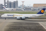 Orcaさんが、羽田空港で撮影したルフトハンザドイツ航空 747-830の航空フォト(写真)