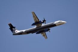 sonnyさんが、成田国際空港で撮影したオーロラ DHC-8-402Q Dash 8の航空フォト(写真)