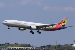多楽さんが、成田国際空港で撮影したアシアナ航空 A330-323Xの航空フォト(写真)